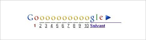 Mise à jour Google le samedi